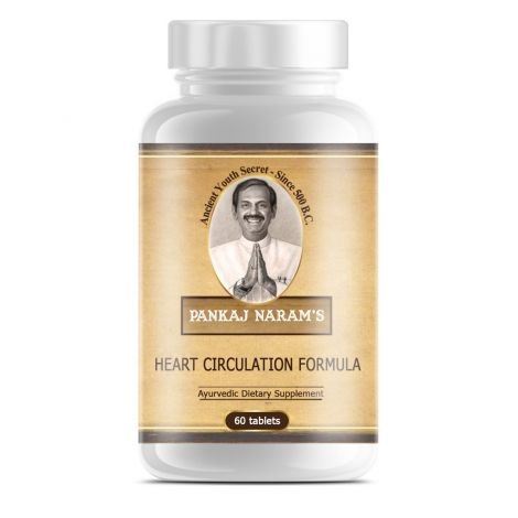Pankaj Naram's Healthy Heart Circulation Formula - 60 Tablets