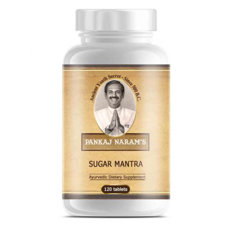 Pankaj Narams Sugar Mantra - 120 tablets